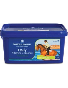 D&H Daily Vitamins & Minerals - 2kg