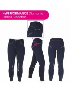 Ladies Diamante Breeches