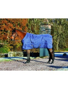 Horseware Rhino Original Stable Rug Medium 200g Navy & Cream
