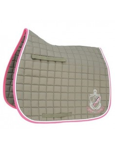 HySPEED Hy Equestrian Saddle Cloth Chocolate and Pink