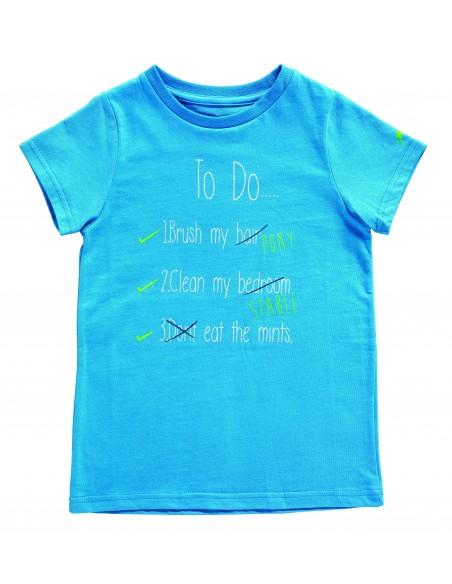 Harry Hall To Do Junior T-Shirt Blue