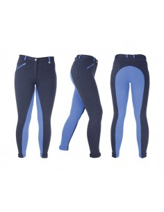 HyPERFORMANCE Manby Ladies Jodhpurs  Navy/Blue