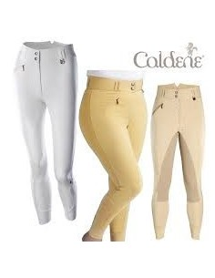 Caldene Ladies Hartpury High Waist Full Seat Breeches black side