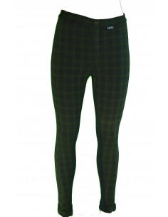 Riders Childs Check Jodhpurs green front