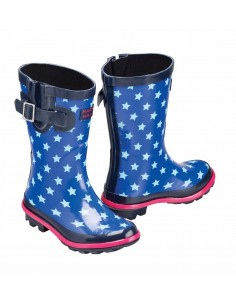 Harry Hall Hale Junior Wellingtons navy
