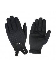 Hy5 Diamante Riding Gloves pair