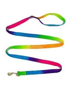 Rainbow Flat Lead Rope