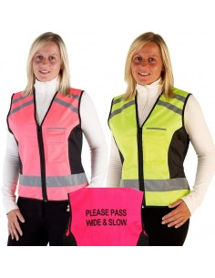 "HyVIZ Waistcoat ""Please Pass Wide and Slow"""