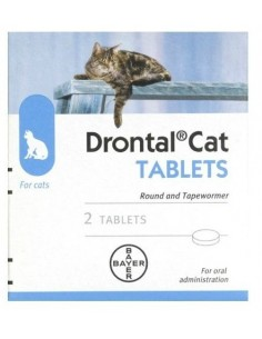 Drontal Cat Wormer Tablets