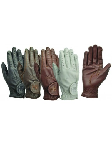 Hy5 Adult Leather Riding Gloves