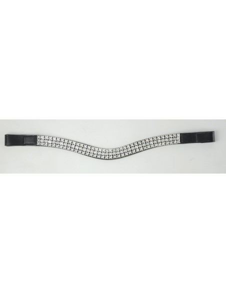 HyCLASS Diamante Flower Brow Band