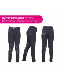 HyPERFORMANCE Preston Childs Diamante Jodhpurs