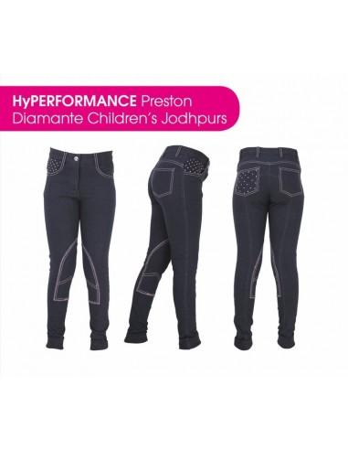 HyPERFORMANCE Preston Childs Diamante Jodhpurs