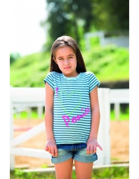 Horseware Kids Novelty Tee Shirt Horse Print Full