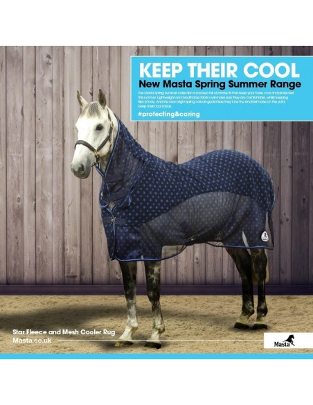 Masta Star Fleece and Mesh Cooler Keep Cool