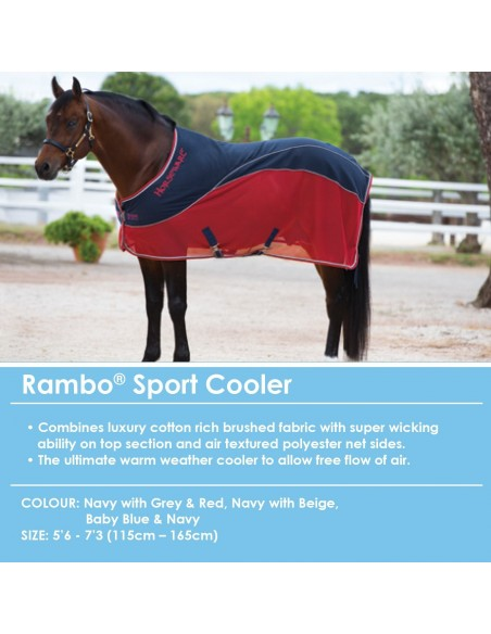 Rambo Sport Cooler Neck View