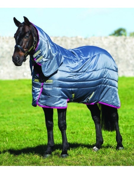 Horseware Amigo All in One Insulator Stable Rug Medium 200g  Fig & Navy