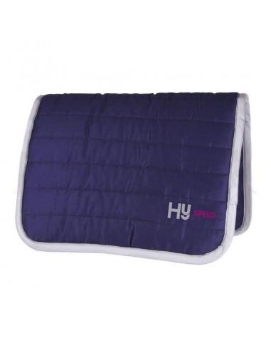 HySPEED Reversible Comfort Pad Navy Light Blue Trim