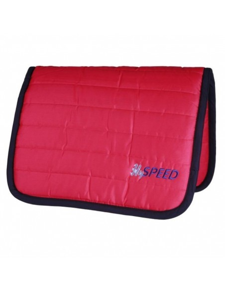 HySPEED Reversible Comfort Pad Claret and Black