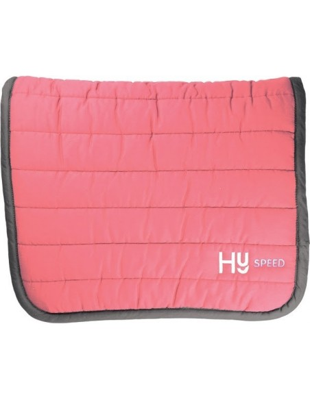 HySPEED Reversible Comfort Pad Raspberry and Navy