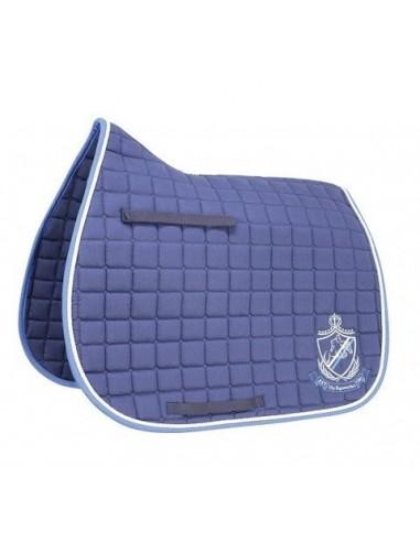 HySPEED Hy Equestrian Saddle Cloth Navy Brilliant Blue