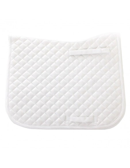 HySPEED Dressage Saddle Cloth White