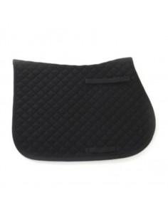 HySPEED Diamante Trim Saddle Cloth Black