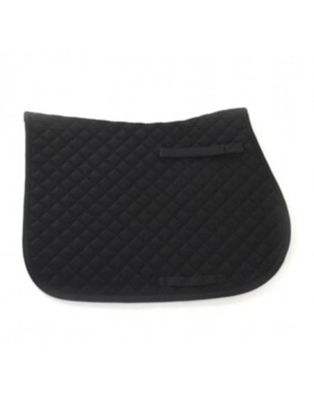 HySPEED Diamante Trim Saddle Cloth Black