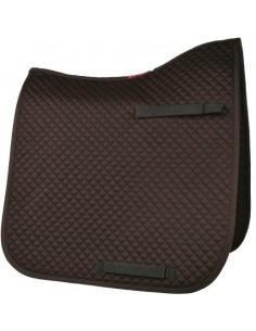 HyWITHER Competition Dressage Pad Brown