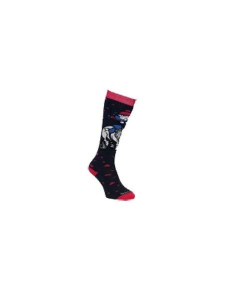 Sockmine Thellwell Socks navy heart