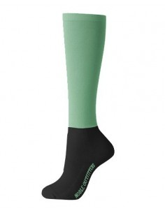 Noble Outfitters Solid Peddies - Over the Calf Two Tone jade