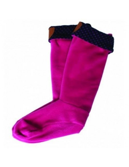 Horseware Fleece Welly Cosy Pink
