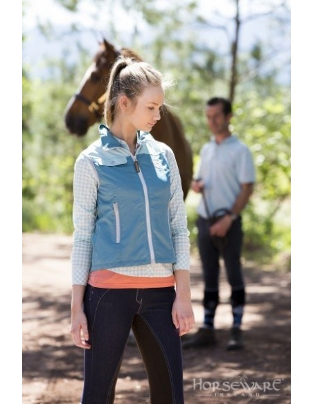 Horseware Ladies Orla Gilet Green Front