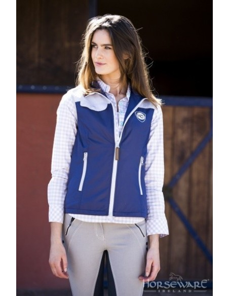 Horseware Ladies Orla Gilet Purple Front