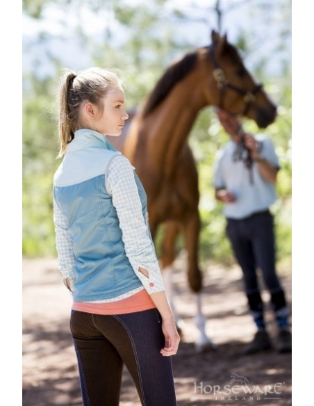 Horseware Ladies Orla Gilet Green Back