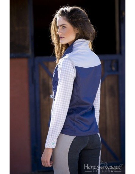 Horseware Ladies Orla Gilet Purple back
