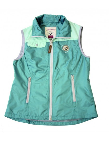 Horseware Ladies Orla Gilet Green Plain