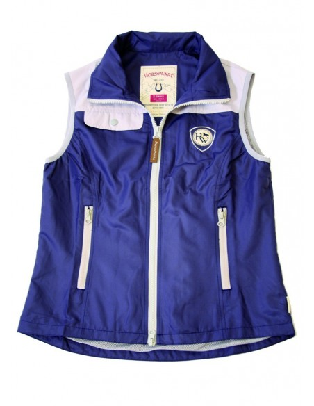 Horseware Ladies Orla Gilet Purple Plain