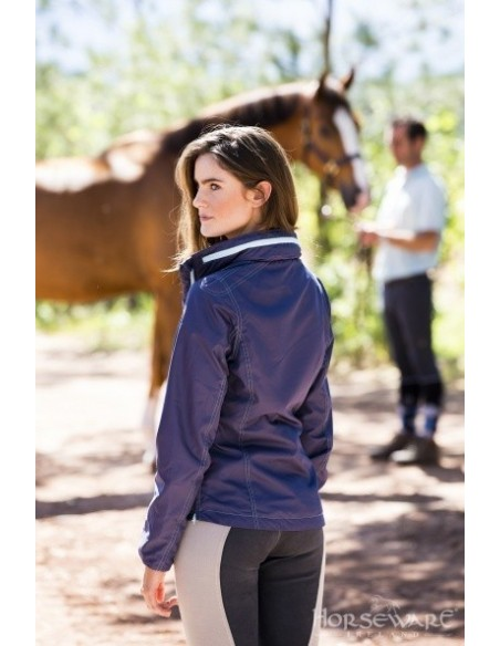 Horseware Ladies Cleona Riding Jacket Back