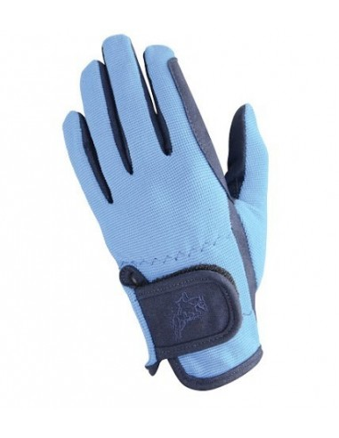 Hy5 Everyday Two Tone Riding Gloves navy sky front