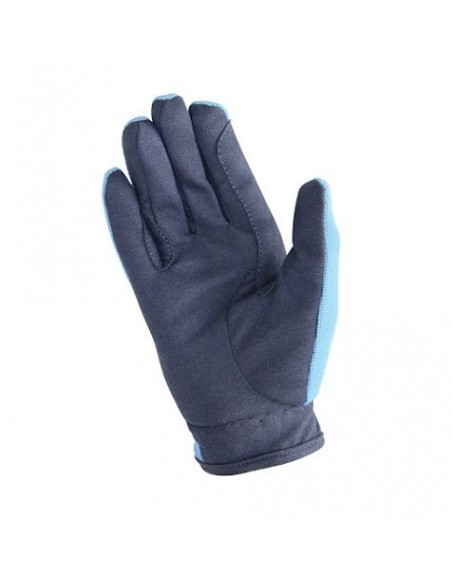 Hy5 Everyday Two Tone Riding Gloves navy sky back
