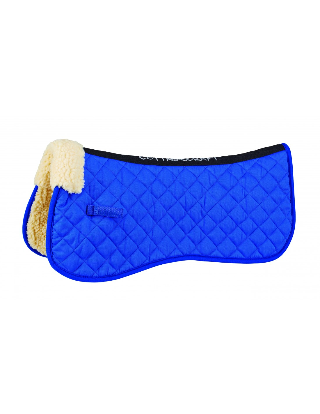 COLOURS saddle pad numnah COTTAGE CRAFT tex half pad synthetic wool ALL SIZES