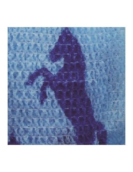 Harry Hall Flex Wraps Blue Horse