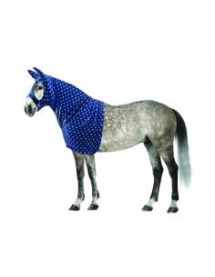 Fleece Hood Blue Stars