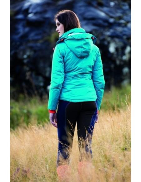 Horseware Ladies Brianna Riding Jacket Enamel Blue Back