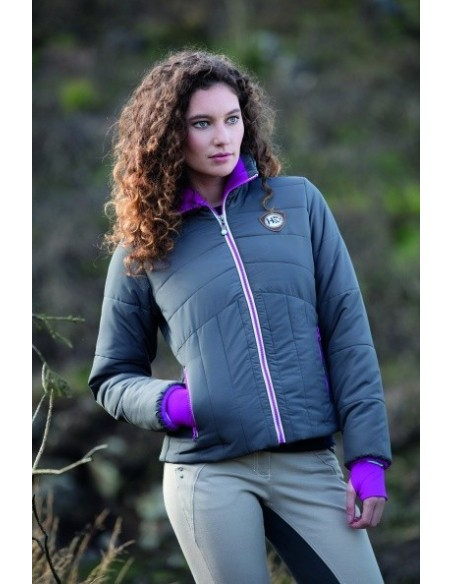 Horseware Ladies Eve Padded Jacket Castle Rock Front