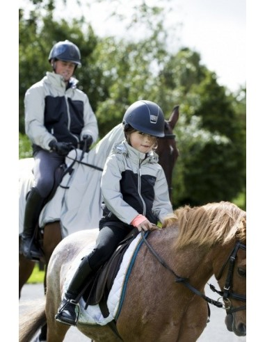 Horseware Reflective Kids Corrib Jacket Front