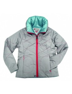 Horseware Reversible Kids Padded Jacket grey front