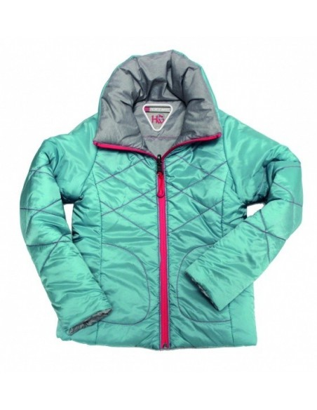 Horseware Reversible Kids Padded Jacket blue front