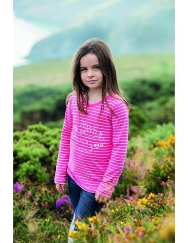 Horseware Girls Long Sleeve Top Pink full